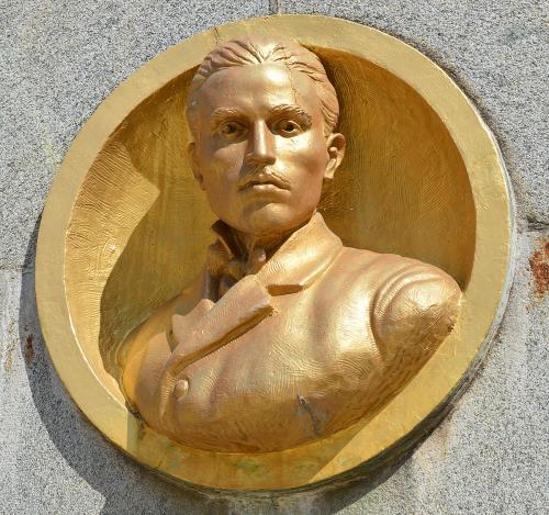 Botevgrad Stamen Panchev relief
